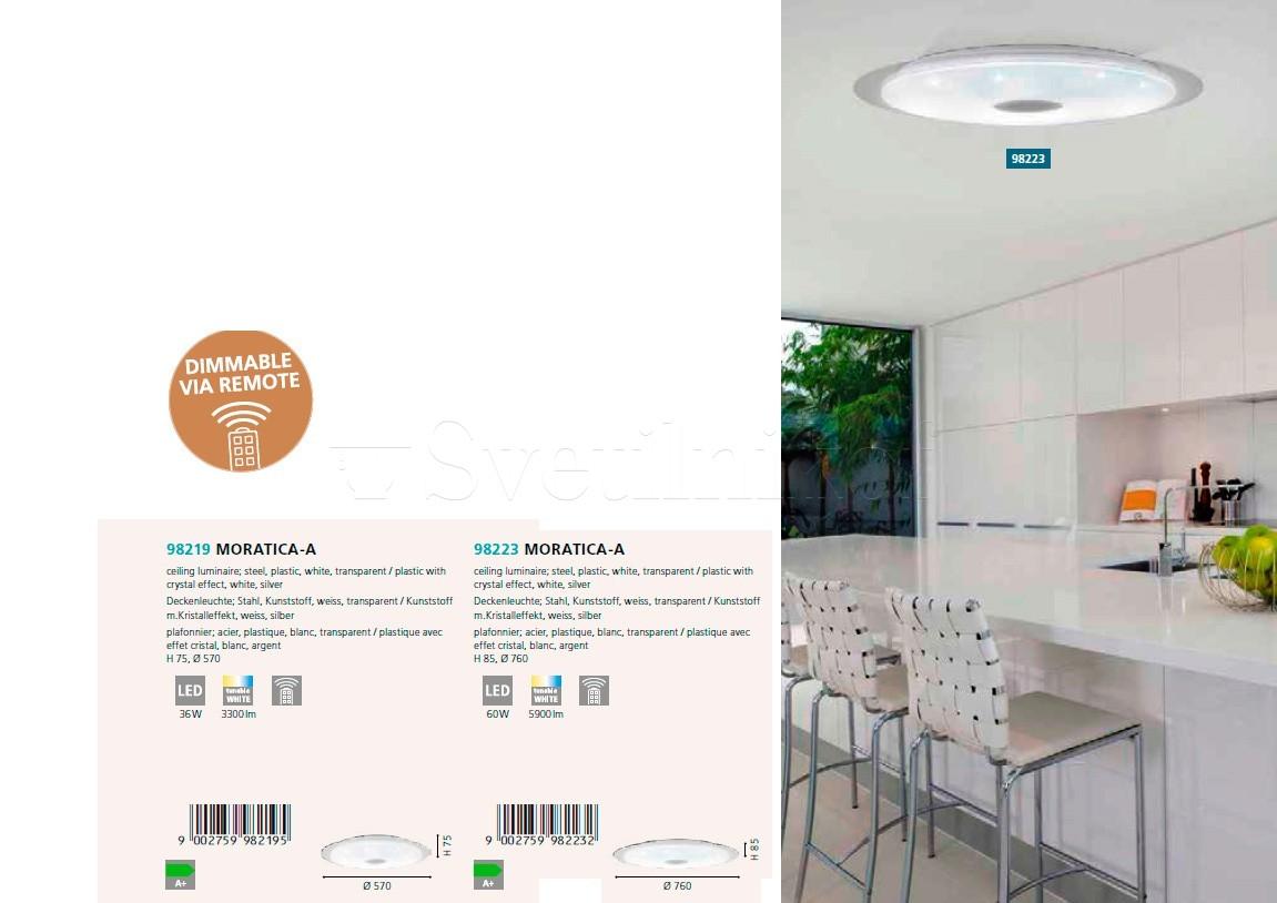 потолочный светильник Moratica A 57 Led Eglo 98219 купить в