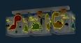 Дитячий світильник Dalber Dinos 73453 1