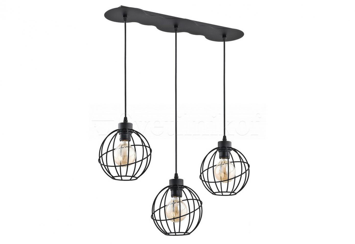 Подвесной светильник ORBITA BLACK 3 TK-Lighting 1627