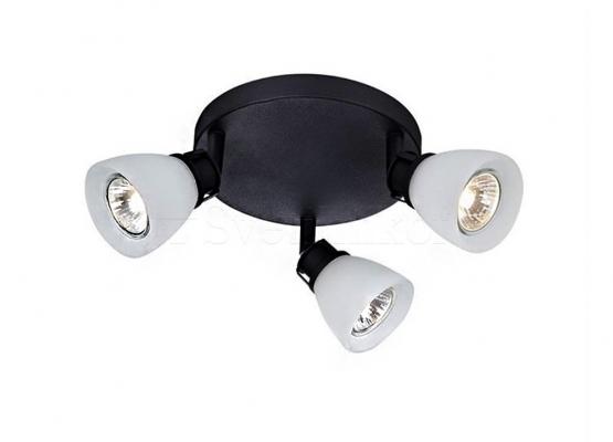 Стельовий світильник MARKSLOJD AON 3l black 106424