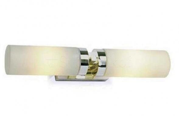 Настенный светильник для ванной MARKSLOJD STELLA 2L Steel 234841