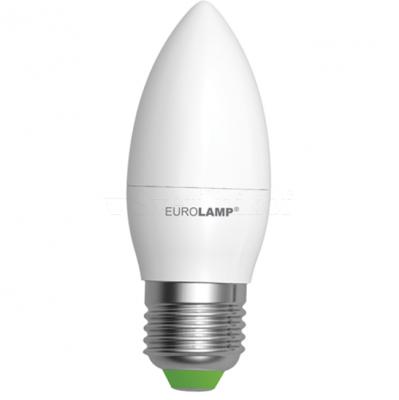 Лампа EUROLAMP LED ЕКО CL 6W E27 3000K
