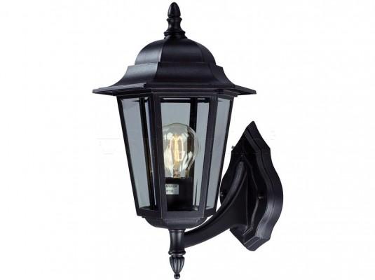 Настінний світильник вуличний MARKSLOJD NAIMA Black 100290