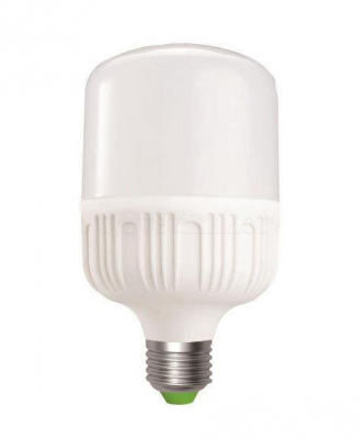 Лампа надпотужна EUROELECTRIC LED Plastic 30W E27 6500K