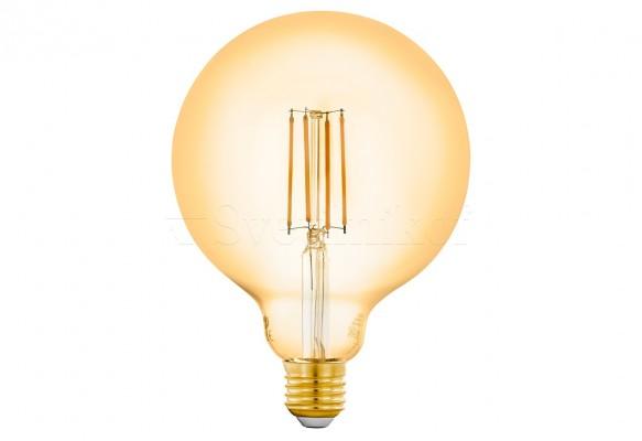 Лампа E27-LED-G125 6W 2200K Eglo 12573