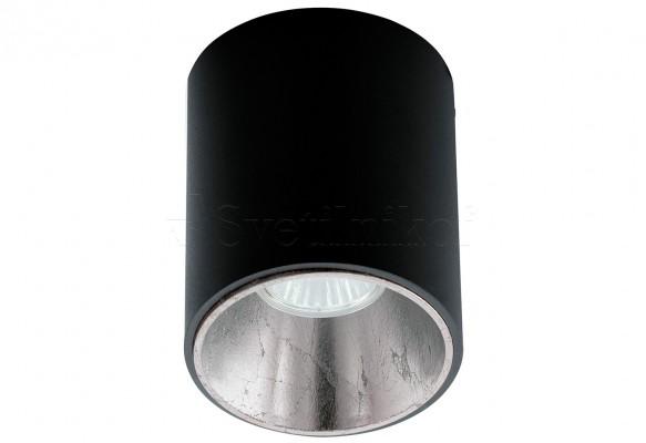 Точечный светильник POLASSO ROUND BK/SI Eglo 62253