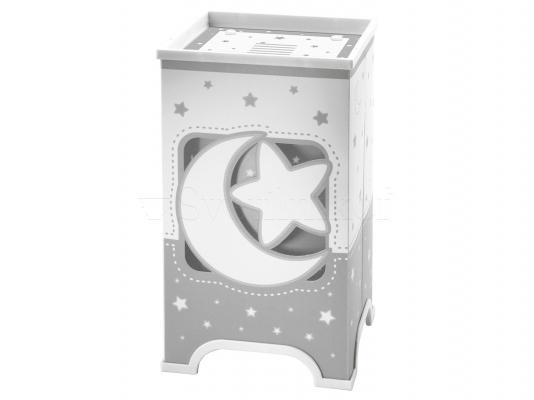 Дитяча ністільна лампа Dalber Moon Grey 63230E