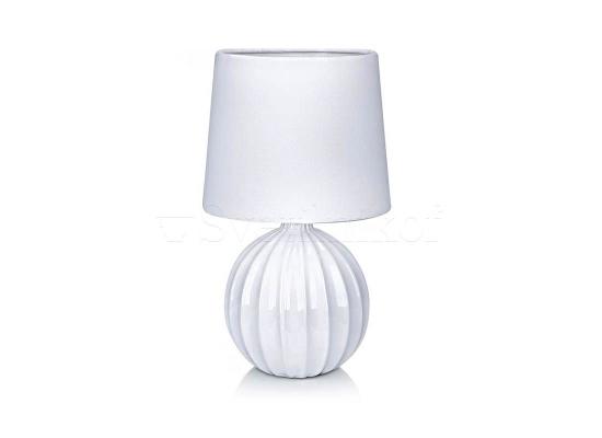 Настольная лампа MARKSLOJD MELANIE white 106884