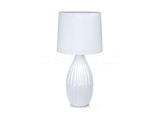 Настільна лампа MARKSLOJD STEPHANIE white 106887