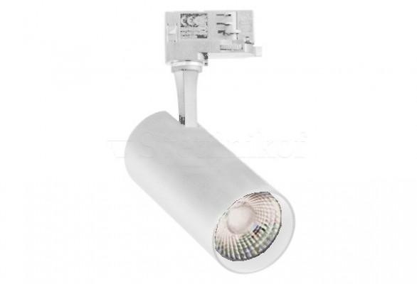Трековый светильник FOX 15W LED 4000K WH Ideal Lux 267784