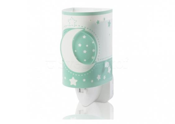 Детский ночник Dalber LED Moon Green 63235LH
