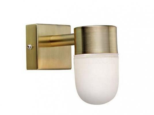 Настінний світильник для ванної кімнати MARKSLOJD MENTON Brass 106374