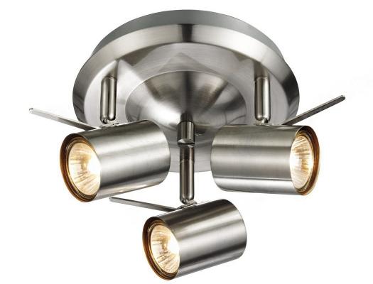 Стельовий світильник MARKSLOJD HYSSNA LED 3L Steel 105486