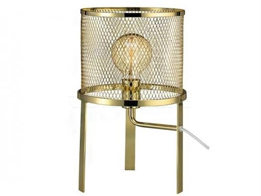 Настольная лампа MARKSLOJD GRID Brass 106056