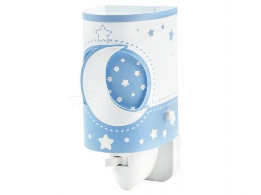Ночник детский Dalber Moon Blue 63235LT