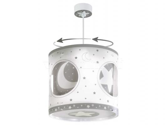 Детский светильник Dalber Moon Grey  63234E