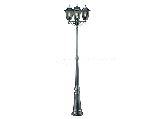 Вуличний фонарь MARKSLOJD NAIMA Grey 100287