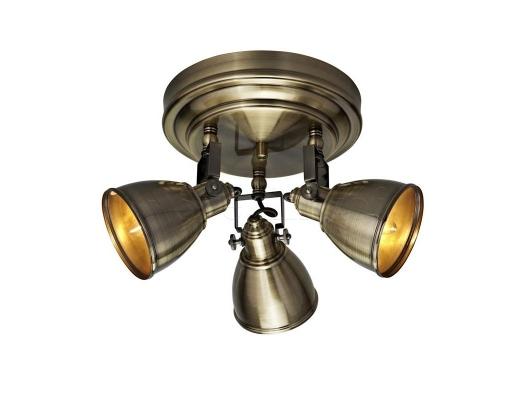 Стельовий світильник MARKSLOJD FJALLBACKA 3L Brass 104050