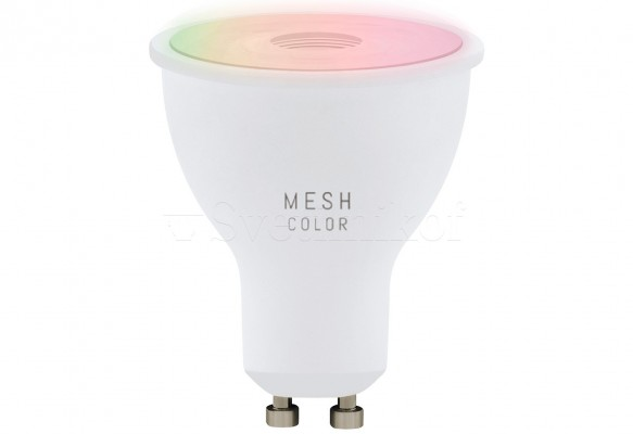 Лампа GU10-LED 5W 2700-6500K+RGB Eglo 11856