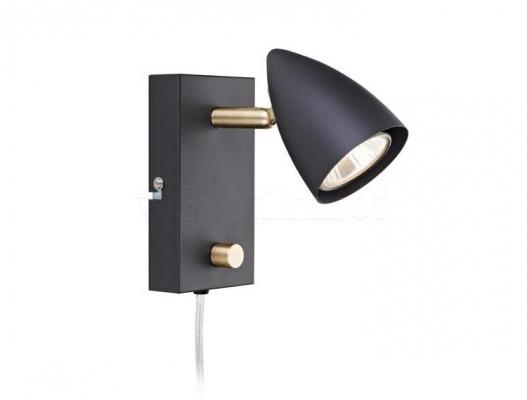 Настенный светильник MARKSLOJD CIRO Black 106318