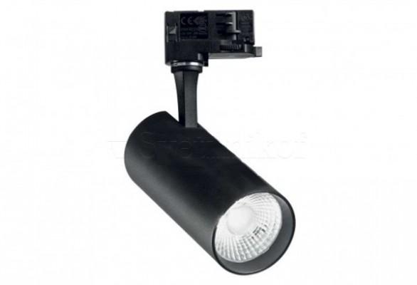 Трековый светильник FOX 25W LED 4000K BK Ideal Lux 267791