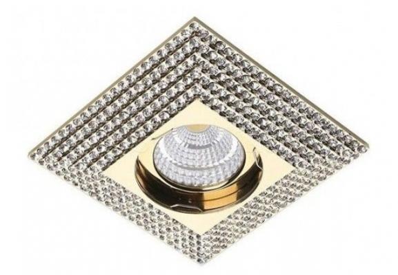 Точечный светильник PIRAMIDE XL Azzardo NC1673SQ-GO