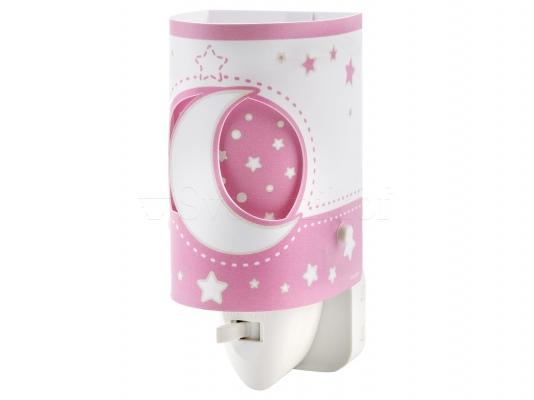Ночник детский Dalber Moon Pink 63235LS
