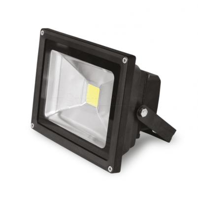 EUROELECTRIC LED Прожектор COB черний 50W 6500K classic