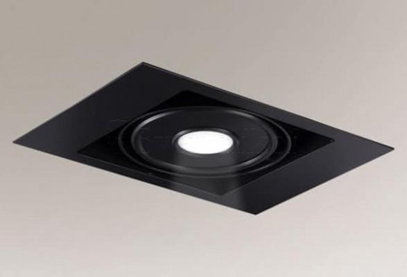 Точечный светильник MUKO IL 1 LED 4000K 25cm BK Shilo 8472