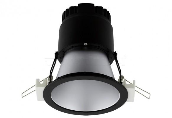 Точечный светильник Eglo LED fixed 16W BK 61261