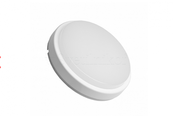 Світильник круглий EUROLAMP LED накладний ЖКХ 12W 5500K