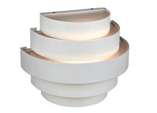 Настінний світильник вуличний MARKSLOJD ETAGE White 105829