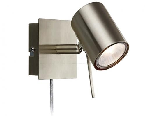 Настенный светильник MARKSLOJD HYSSNA LED Steel 105482