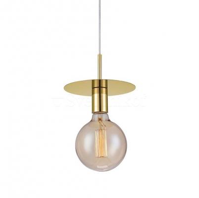 Подвесной светильник MARKSLOJD DISC Brass 106150