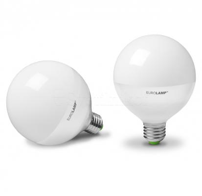 Лампа EUROLAMP LED ЕКО G95 15W E27 3000K