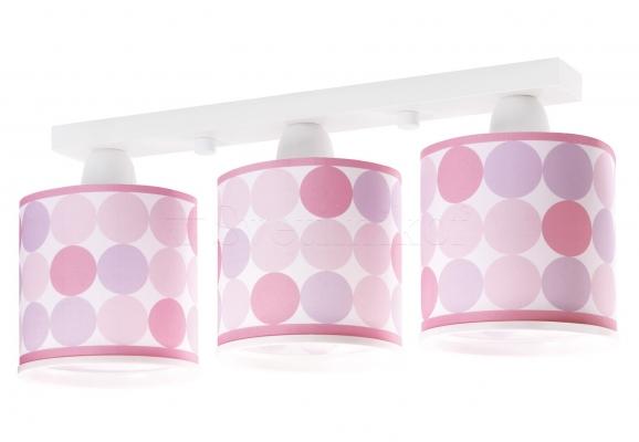 Дитячий світильник Dalber Colors Pink 62003S