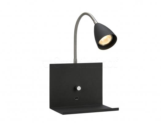 Настенный светильник Markslojd LOGI Black 107141