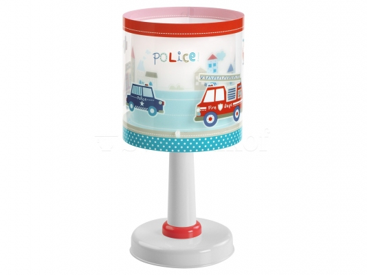 Дитяча ністільна лампа Dalber POLICE 60611