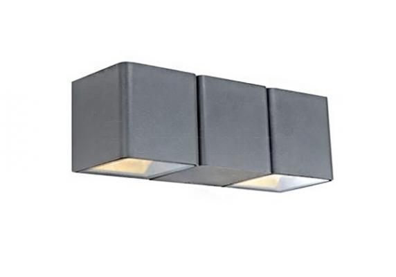 Настінний світильник вуличний MARKSLOJD CETO Grey 106517