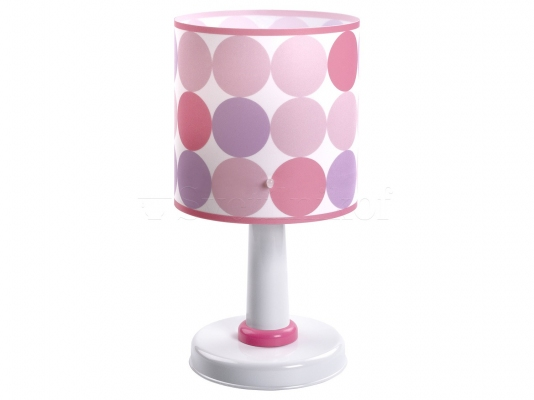 Дитяча ністільна лампа Dalber Colors Pink 62001S