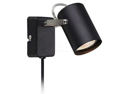 Настінний світильник MARKSLOJD KEY Black 106415