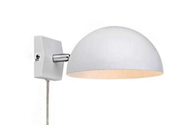 Настінний світильник MARKSLOJD KUPOL White 105478