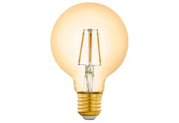 Лампа E27-LED-G80 5,5W 2200K Eglo 12572
