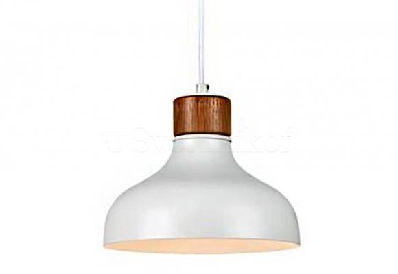 Підвісний світильник MARKSLOJD MAY White/Walnut 106657