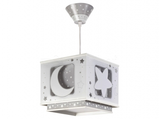 Дитячий світильник Dalber Moon Grey 63232E