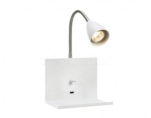 Настенный светильник Markslojd LOGI White 107140