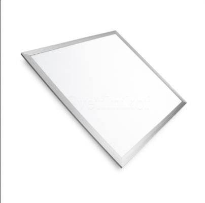 Панель EUROLAMP LED 60х60 срібляста рамка 40W 4100K