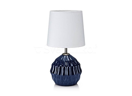 Настільна лампа MARKSLOJD LORA blue 106883