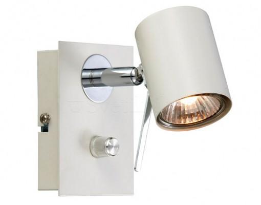 Настінний світильник MARKSLOJD HYSSNA 1L White 104441
