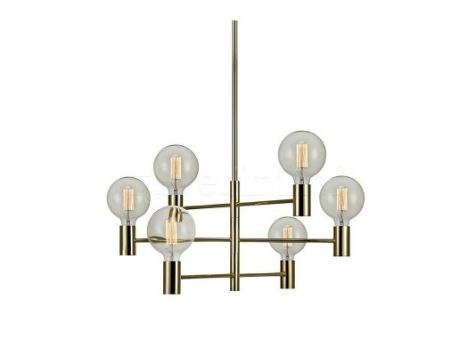 Подвесной светильник MARKSLOJD CAPITAL Brass 106418